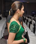 Tamannaah in gorgeous green saree photo (1)