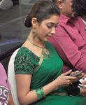 Tamannaah in gorgeous green saree photo (2)
