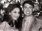 Madhuri Dixit and Shriram Nene at their wedding