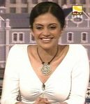 Mandira Bedi -  Sony Max commentator during the 2003 Cricket World Cup