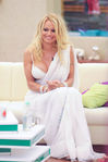 Pamela Anderson in sari