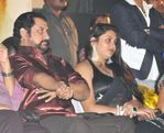 Namitha in Black saree (1)