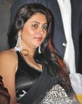 Namitha in Black saree (3)