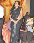 Namitha in Black saree (4)