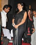 Namitha in Black saree (6)