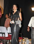 Namitha in Black saree (7)