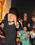 Namitha tattoo on back -picture