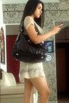 Actress Asin in mini skirt stills (1)
