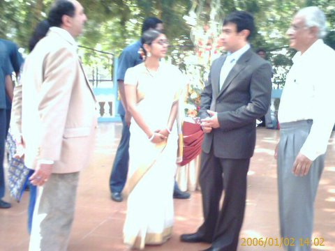Khan and Kiran Rao Wedding/Aamir Khan and Kiran Rao wedding pictures