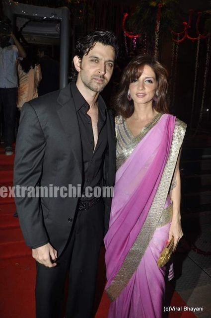 Hrithik Suzanne Roshan And Laila Khan S Wedding Reception 6