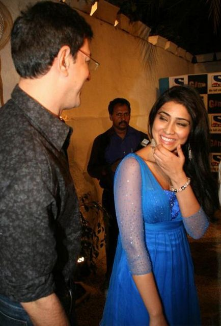 Shriya Saran at Sony Pix's reality show launch