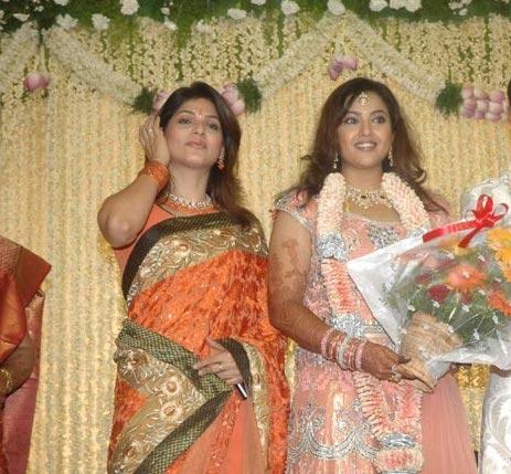 Meena Wedding Reception Tharika At Actress Indian Bollywood South Movie Photo Gallery