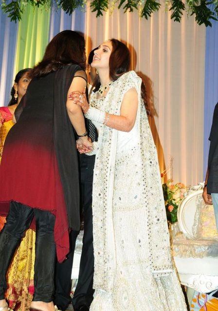 Ramya Krishnan At Sridevi Wedding Reception