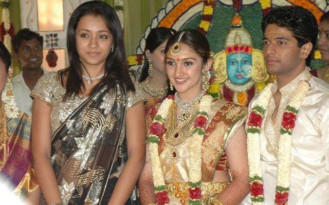 Trisha At Sridevi And Rahul Wedding