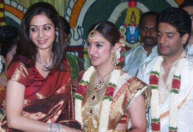 Actress Sridevi Wedding