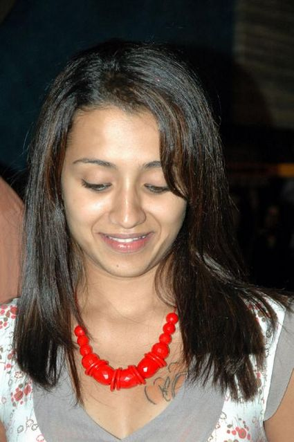 Trisha Krishnan and Her Tattoo