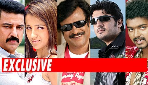 Kamal, Vijay, Ajith, Trisha to dance with Rajinikanth ...