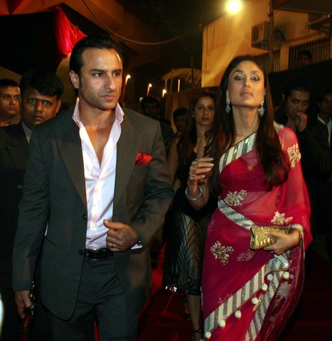 Saif Ali Khan and Kareena Kapoor married. saifkareena.jpg
