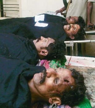 Operation Cocoon, Veerappan body, bodies of veerappan and his associates,Death of Veerappan