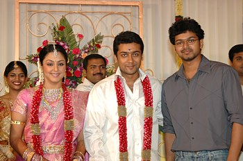 Surya and Jyothika Marriage Photo Gallery,Surya,Jyothika,Surya and Jothika's daughter name is Diya