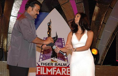 Best Actor award  Mohanlal, Mohanlal,Paradesi Mohanlal,Mohanlal Best Actor award Paradesi,Filmfare Awards South , Filmfare Awards ,54th Filmfare Awards Malayalam