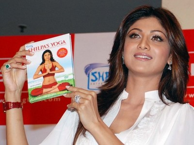 Shilpa Shetty yoga DVD, yoga DVD,Shilpa Shetty BIGFlix, Shilpa Shetty BIGFlix yoga DVD