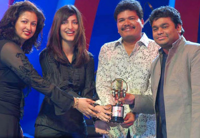 Sunfeast Music Awards 2008,Gouthami Sruthi Haasan Shankar ar rahman at Sunfeast Music Awards 2008