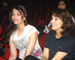 madhuri and aiswarya