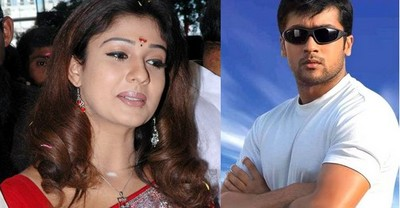 Suriya Nayantara, Suriya and Nayantara in Udayanidhi Stalin's Red Giant Movies, Udayanidhi Stalin's Red Giant Movies