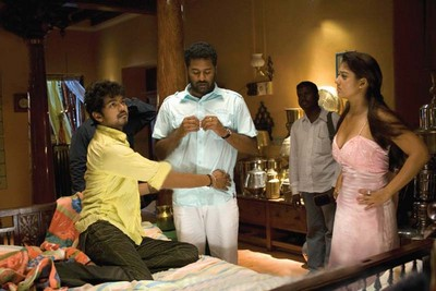 Vijay and Nayanthara in Villu Movie Shooting Photo, Vijay and Nayanthara in Villu, Villu Movie Shooting Vijay and Nayanthara,Vijay Villu Movie,Nayanthara Villu