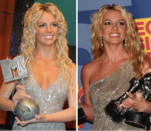 britney spears wax
