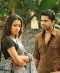 Simbu and Trisha in Vinnaithandi Varuvaaya