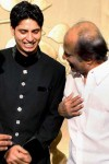 Rajini at cricketer Srikanth Son wedding ceremony