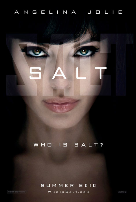 Hollywood movie Salt stars Angelina Jolie as Evelyn Salt, accused of being a