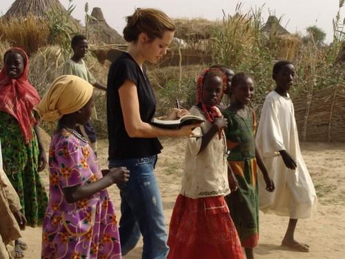 Hollywood-actress-and-U.N.-Goodwill-Ambassador-Angelina-Jolie.