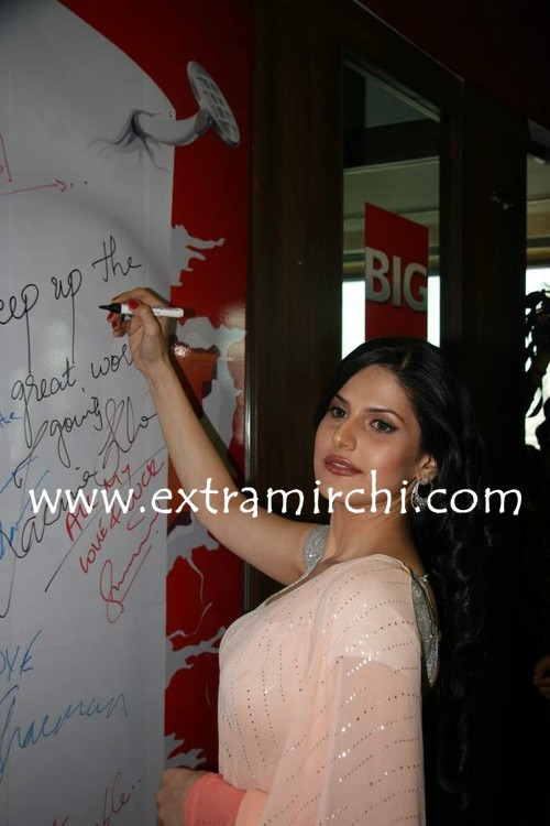 Zarine-Khan-at-Big-FM-Studios-promoting-movie-Veer-8.jpg