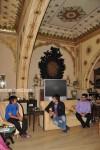 Prince Padmanabh of Jaipur wth Vivek Oberoi with Kumar Taurani