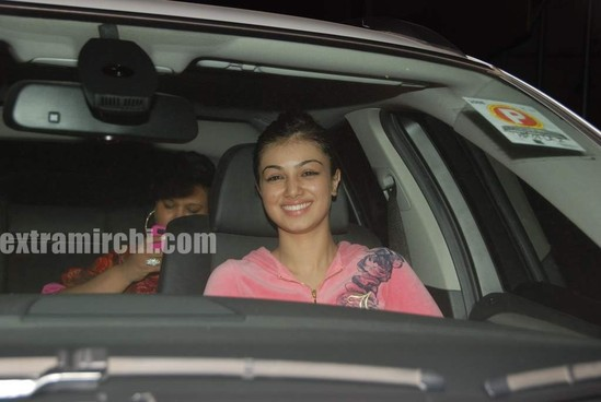 photo of Ayesha Takia Honda Sity, BMW 7 - car