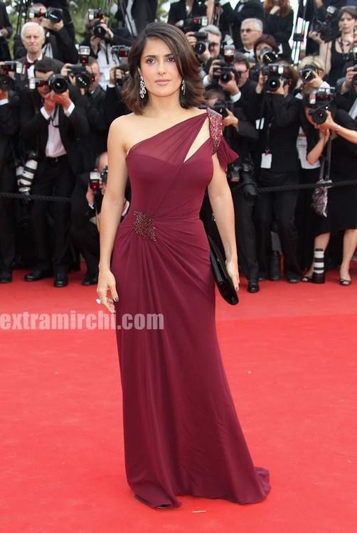 Salma Hayek. Salma Hayek at Cannes Film