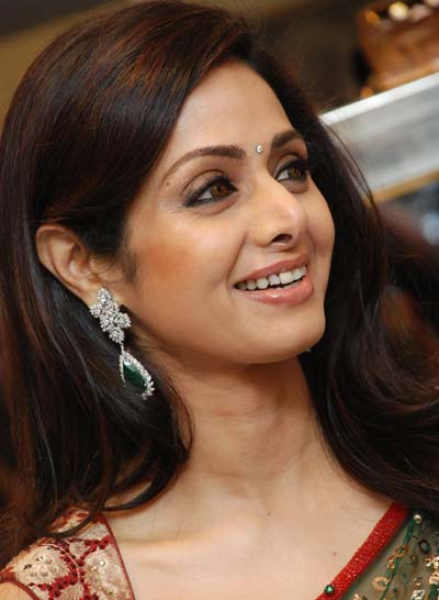 indian femail clebs sridevi
