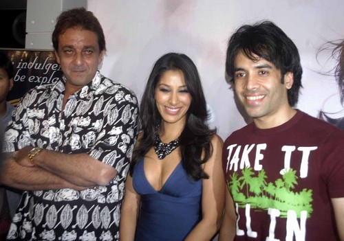 Sanjay_Dutt__Sophie_Chaudhary_and_Tushar_Kapoor-at-Sound-of-Sophie.JPG